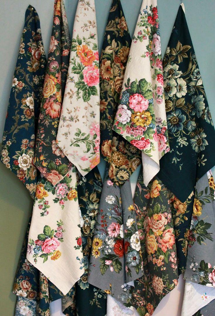 the linen garden, my favorite types of prints