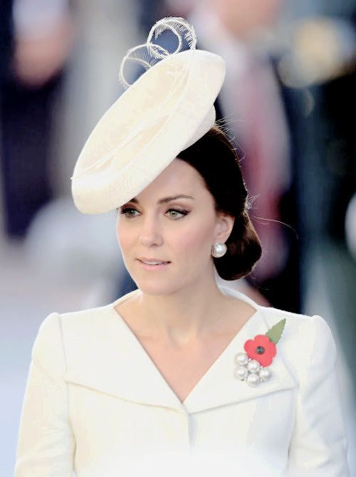 The Duchess of Cambridge attend the Last Post ceremony, which has taken place every night since 1928, at the Commonwealth War Graves Commission Ypres (Menin Gate) Memorial | July 30, 2017
