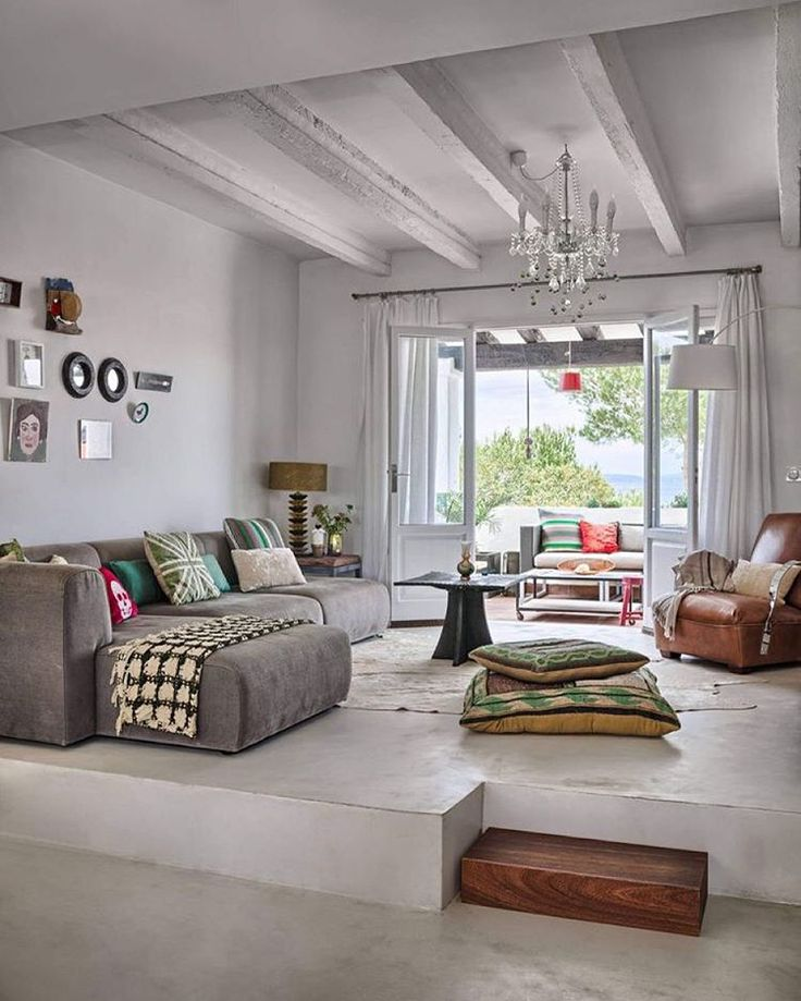 Like The Open Apartment Space Not Loving The Furniture Decoration Formentera House By Masol Find This Pin And More On Living Room