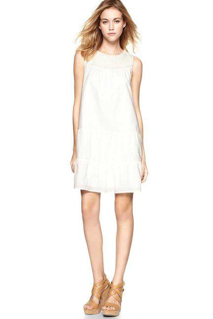 Summer Dresses: THE LWD -   Gap Tiered Peasant Dress, gap.com