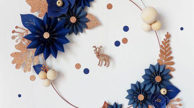Déco murale : 7 DIY de Noël piochés sur Pinterest