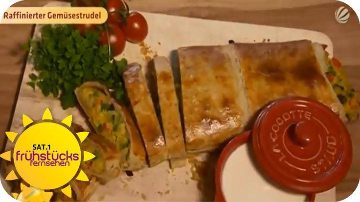 Gemüsestrudel mit Kokosdip | SAT.1 Frühstücksfernsehen