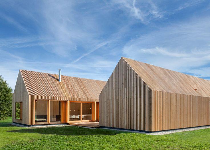 Moderne holzhäuser architektur  83 besten Architektur Bilder auf Pinterest | Holzhaus, Satteldach ...