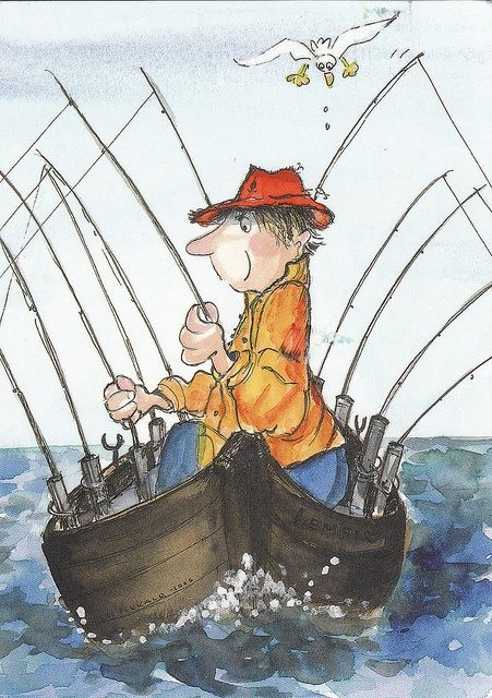 fishing... reminds me of casey