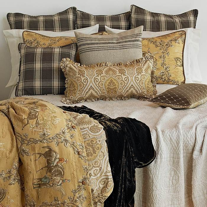 Best Toile Bedding Ideas On Pinterest Country Bedroom Blue - Blue and white toile duvet cover
