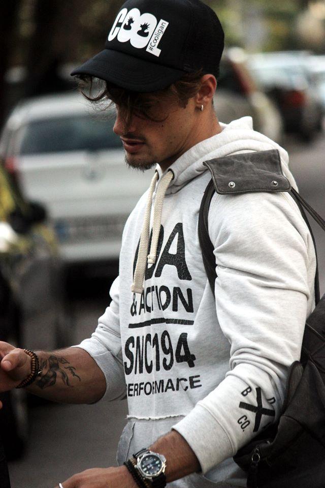 Stelios Niakaris.    #male #model #handsome #greek #man #boy #street #style #casual #outfit