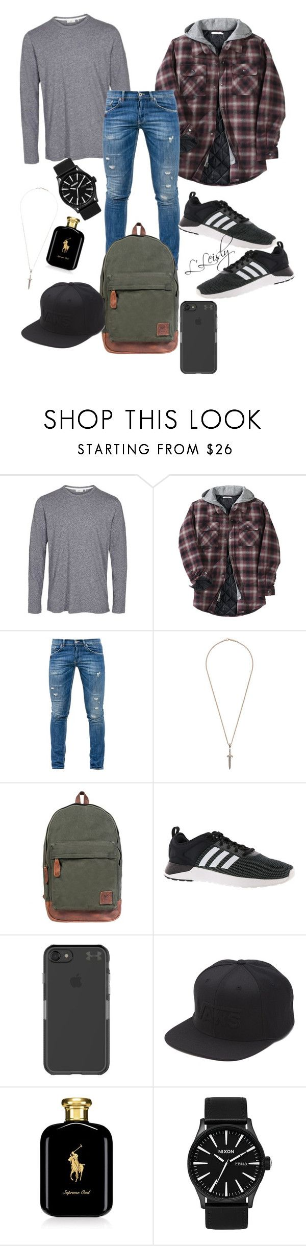 Hey Chico! by layaleisly on Polyvore featuring Dondup, Other, adidas, Nixon, Mahi, Vans, Under Armour, Roman Paul, Ralph Lauren and men's fashion