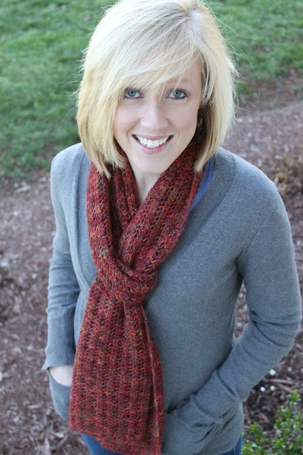 One Row Lace Scarf