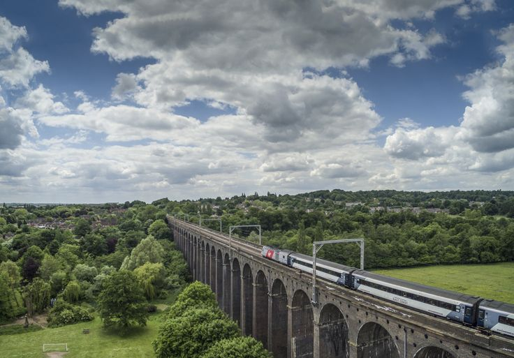 Virgin East Coast Express on the Digswell Viaduct by Nigel Lomas on 500px