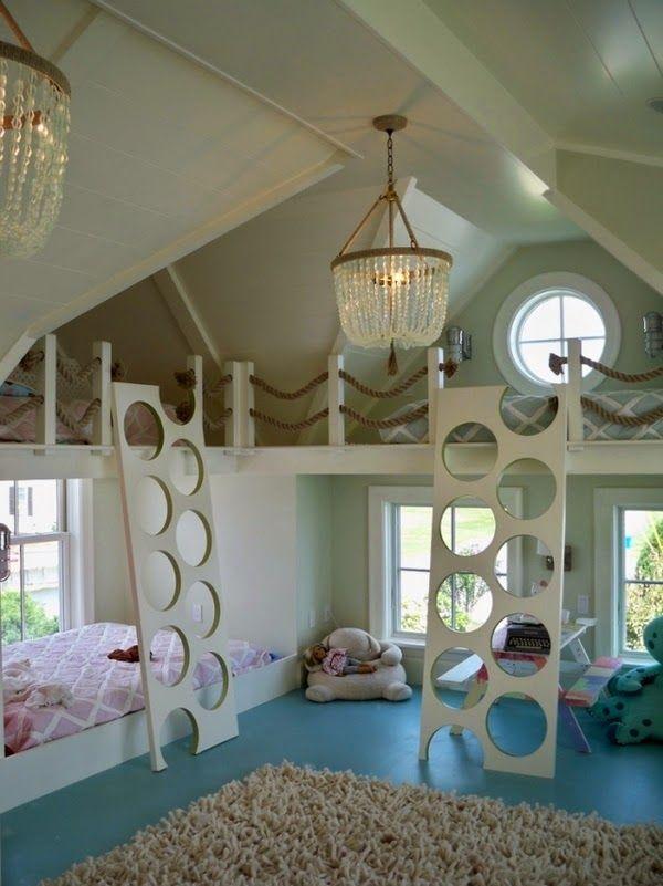 Lits superposés Cool apporteront la joie,l'unicité et l'originalité à la chambre de vos enfatns