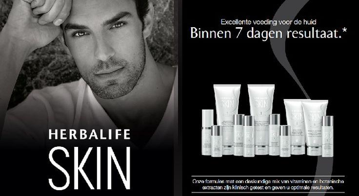 Ook mannen hebben een huid! De huidverzorgingslijn SKIN is ook voor mannen!