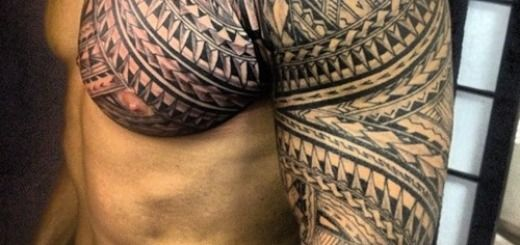 Hawaiian Tribal Wing Tattoos on Back | Amazing Tribal Tattoos