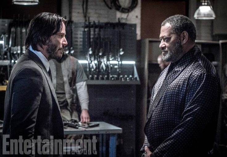 John Wick: Chapter 2's Keanu Reeves, Laurence Fishburne have a Matrix reunion in new photo