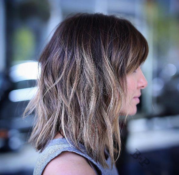 14 Pruebas de que el Long Bob en capas es el corte de pelo que necesitas