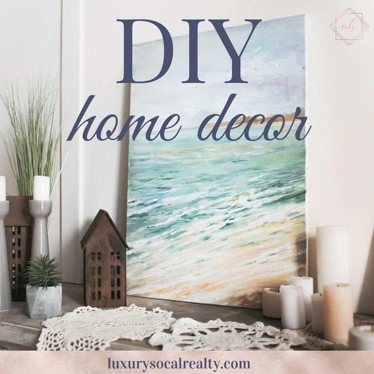 Follow my DIY home decor board for ideas on a budget and for apartments with projects for vases, the bedroom, living room, bathroom and kitchen. Easy …