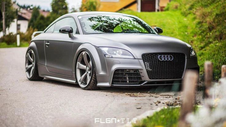 Audi TT RS in spacegrey metallic .... mmmh!