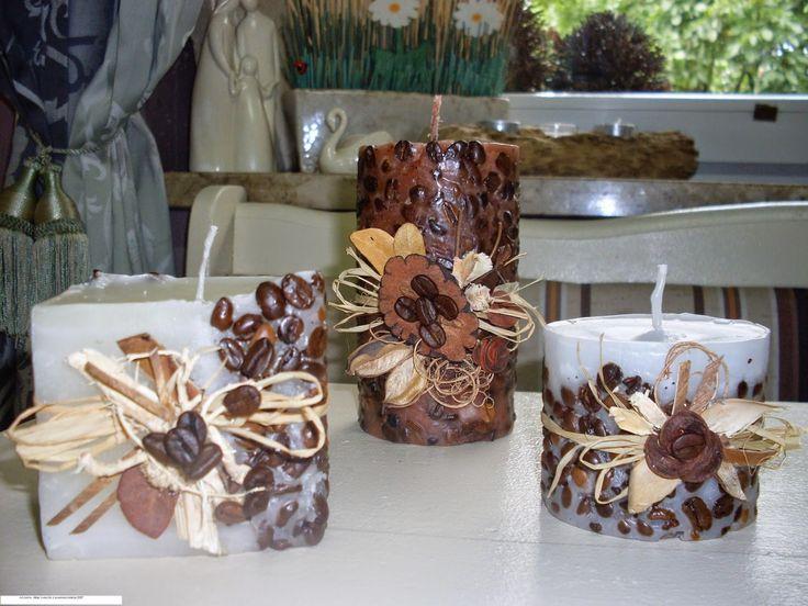 ArtJonKa: Swieczki z kolekcjii jesień 2007