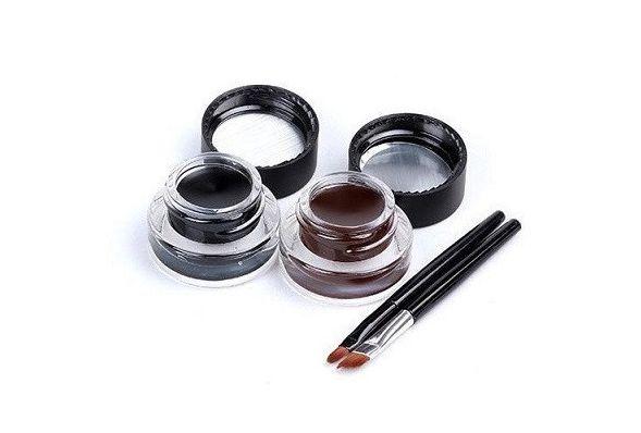 Brown + Black Gel Eyeliner – My Make-Up Brush Set
