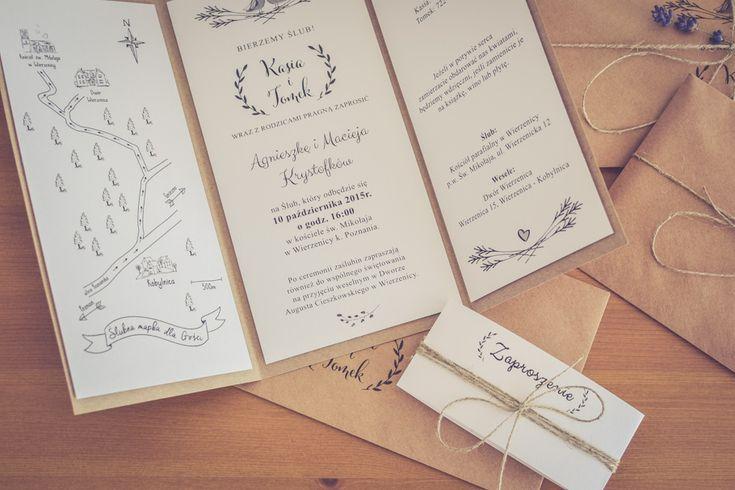 Zaproszenia ślubne DIY | StereoTypowi