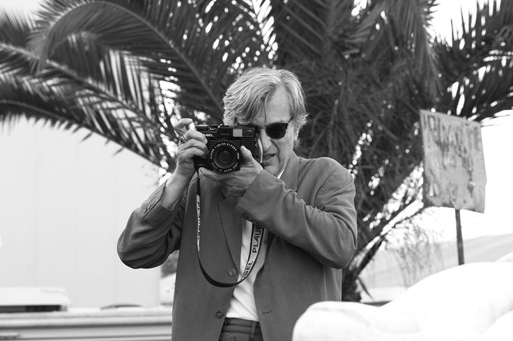 Behind the lens with Wim Wenders as he captures his cinematic vision.