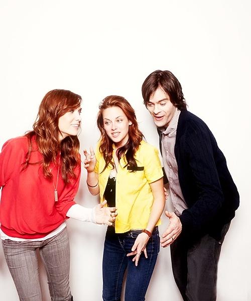 Kristen Wiig, Kristen Stewart and Bill Hader!