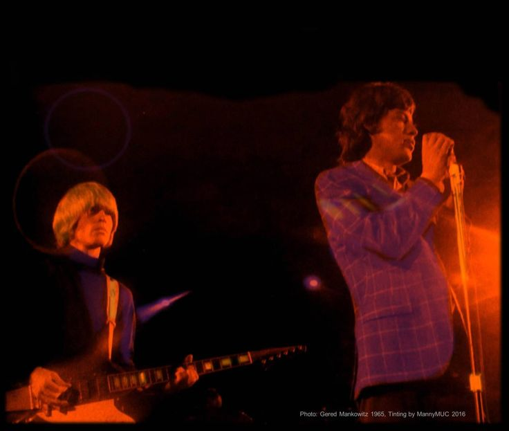 Alive in Sixty-Five - Brian Jones and Mick Jagger