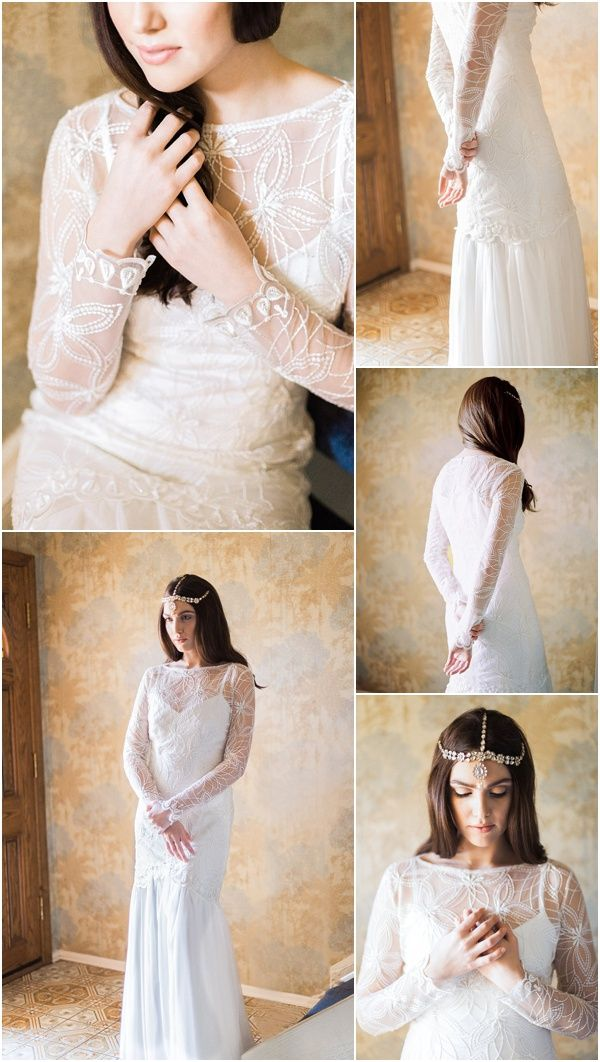 Long Sleeve Wedding Dress From Marisol Aparicio