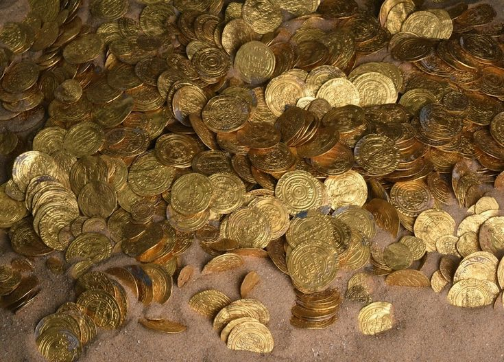Nearly 2,000 gold coins were discovered off the coast of the ancient city of Caesarea, Israel. The gold coins are about 1,000 years old, and were minted by the Fatimid Caliphate, which ruled much of North Africa at the time.