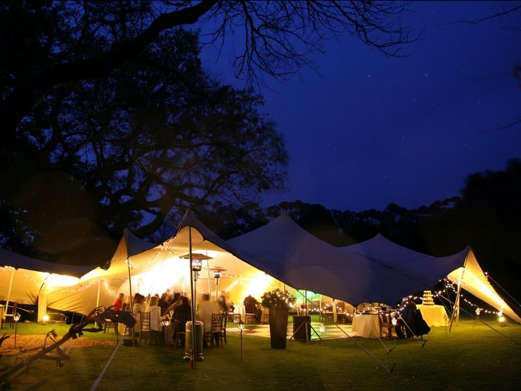 BARTHOLOMEUS KLIP  An evening reception in a free form tent on the lawn.