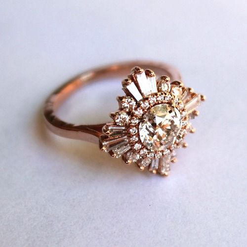 49 best wedding rings images on Pinterest Engagement rings