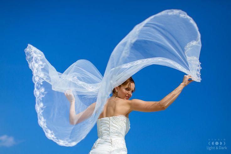 Wedding wings by Aleksander Hadji, www.light-n-dark.com https://www.facebook.com/GreeceWedding