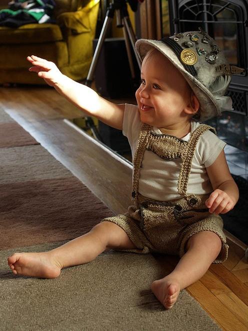 I bet Jackson would look good in those...;)...Baby Lederhosen!