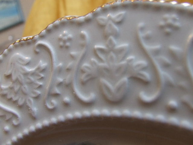 British picture plate detail