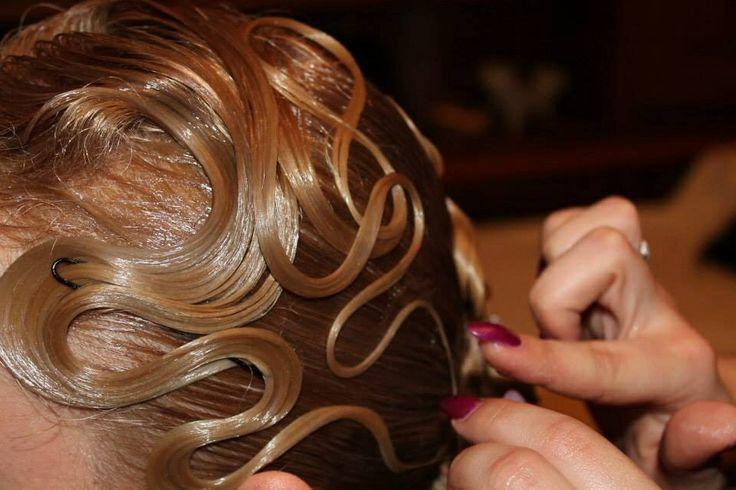 banana peel hairstyle : Ballroom dance hairstyleDance Hairstyles, Ballroom Dance, Ballrooms ...