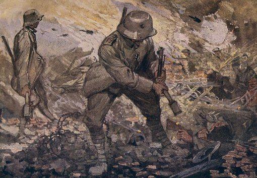 20th art military ww1 sturm truppen month 11 special unit ww1 german
