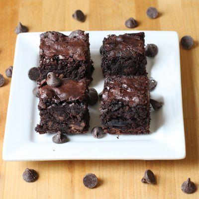 whole wheat dark chocolate brownies | Recipe | Dark Chocolate Brownies ...