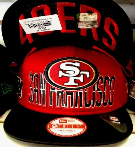 SAN FRANCISCO SF 49ERS 9/FIFTY DRAFT SNAPBACK NFL OFFICIAL