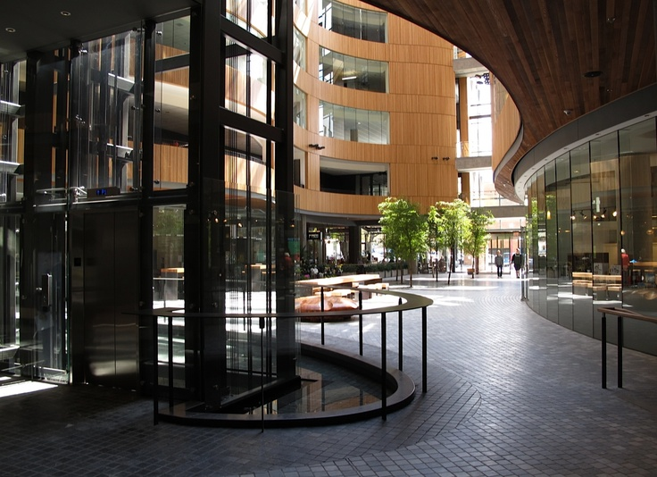 Greater Victoria Library Courtyard