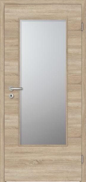 PRÜM Zimmertür CPL Touch Eiche quer strukturiert Rundkante