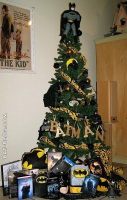 superhero christmas tree | ... TOYS and COLLECTIBLES: BATMAN CHRISTMAS TREE - Holiday Decoration