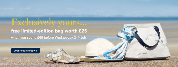 Get an Exclusive limited-edition bag worth £25 @Liz Earle When you Spend £65+ - #Beauty & #Fashion #Sales & Specials Going On This Week! - #shopping - StorybookApothecary.com #skin #makeup #cosmetics
