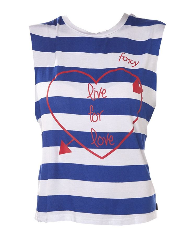 FOXY   Heart Print Live for Love Sloppy Vest - Women - Style36  #RihannaStyle36