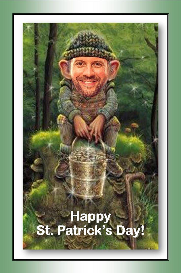 Teddy Wilson's St. Patrick's Day Tweet.