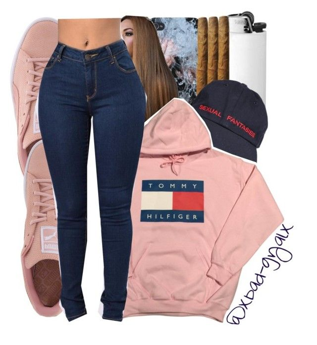 """12/18/16"" by xbad-gyalx ❤ liked on Polyvore featuring Puma"