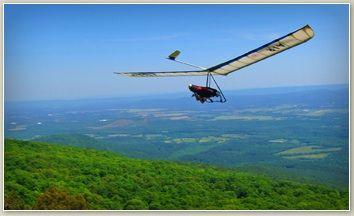 Go hang gliding