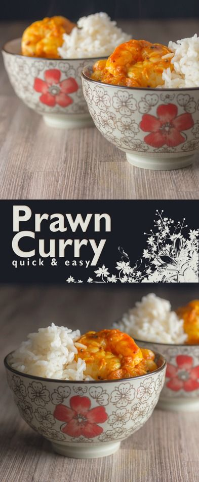 A super quick and simple Indian prawn curry that can be on your plate in just 30 minutes start to finish