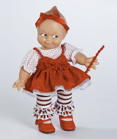 Red Licorice Kewpie Doll 8 Inches Vinly $36.95