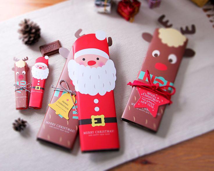 지인들에게 간단한 크리스마스 선물하기 딱이네~ #크리스마스상자 #포장 #선물상자 #성탄절 #유치원선물 #데코 #소품 #christmasbox #wrapping #giftbox #kindergarten