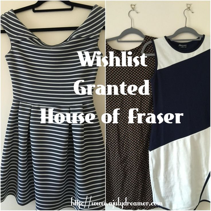 House of Fraser Wishlist {Granted} ⋆ A July Dreamer