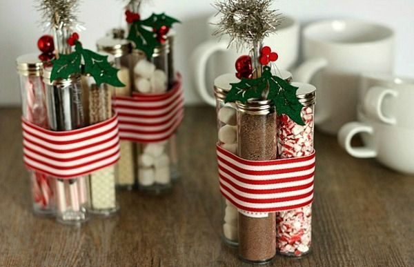 A sweet but thoughtful Christmas git to help warm  up winter for your loved ones. We love these Hot Chocolate Kits! Easy to make for one or in bulk and doesn't have to cost you an arm and a leg! x